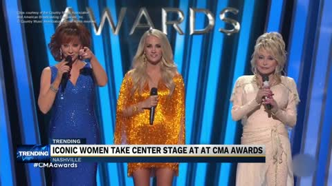 Female country acts across generations unite at CMA Awards